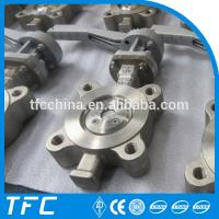 stainless steel CF3M butterfly valve, CF3 Butterfly valve china supplier,silvery, Manufactures