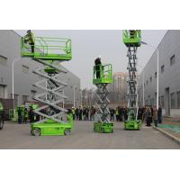 China Hydraulic Small Elevated Lift Platform 6m Working Height With 230kg Capacity on sale