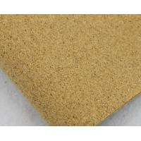 Popular 1.35m Width Mico-Granules Nature Cork Leather by Yard Color for Handag Making Manufactures