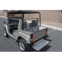 Street Legal Electric Golf Carts Hammer Style Motorised Golf Carts With Big Head Lights Manufactures