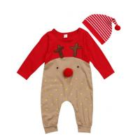 Unisex Organic Cotton Baby Clothes Cute Newborn Infant Onesies Long Sleeve Manufactures