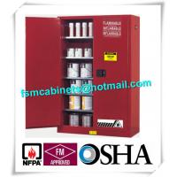 Vertical Combustible Paint Storage Cabinets With Adjustable Horizontal Shelves Manufactures