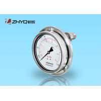 China Sanitary Diaphragm Seal Type Pressure Gauge All Stainless Steel Structure on sale