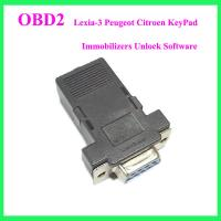 Lexia-3 Peugeot Citroen KeyPad Immobilizers Unlock Software Manufactures