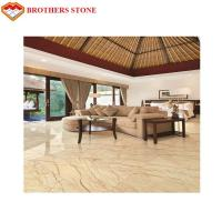 China High Hardness Sofitel Gold Marble Floor Tile For Wall / Decoration on sale