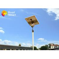 High Performance 8W Solar LED Garden Lights With Adjustable Mono Panel Manufactures