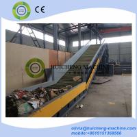 Quality PLC control full automatic hydraulic waste paper cardbaord PET bottle baling for sale