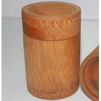 Bamboo tea boxes, tea bag canister, bamboo tube Manufactures
