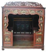 B-041p1a Chinese Furniture, Antique Marriage Room Bed Manufactures