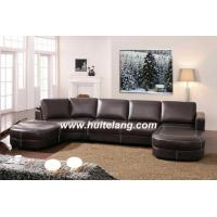 China Top Thick Italian Leather Sofa (6014) on sale