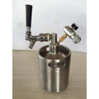 Homebrew Stainless Steel 304 Beer Keg 2L 3.6L 4L 5L 10L Mini Draft Beer Growler Beer Barrels Manufactures