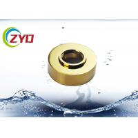 Golden Bathtub Faucet Cover Plate, Height Adjustable Tub Spout Cover Plate Manufactures