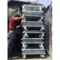 Low carbon Steel metal cages , Loading capacity 1000 - 3000kg