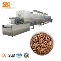 Peanut Dried Fruit Microwave Sterilization Machine ISO9001 Approved Manufactures