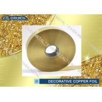 ED Copper Embossing Foil For Decorative , PCB Copper Foil for electric springs , switches Manufactures