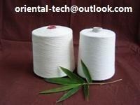 100% natural bamboo fiber yarn for knitting or for weaving at very reliable quality and eco-friendly Manufactures