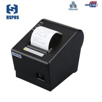 High quality 58mm usb thermal sticker printer with cutter support enthernet and thermal paper printing Manufactures