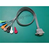 15 Pin Connector ECG Patient Cable 1m Length For DMS300-3A Machine Manufactures