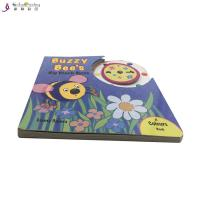 Education Die Cutting Picture Board Books Toddlers Cardboard Children