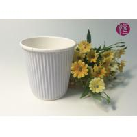 7oz  230ml Corrugated  Triple Wall Takeaway Coffee Cup With Lid Manufactures