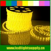 christmas decorations round 2 wires yellow led rope flex lights Manufactures
