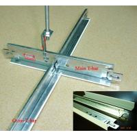 China High quality Suspending T-grid for Pvc gypsum ceiling tiles& Minearl wool board on sale