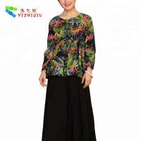 China YIZHIQIU stretch cotton fabric blouse ropa mujer casual ropa mujer on sale