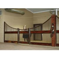 Outdoor Plywood Board European Horse Stalls Stable Stall Fence Panel With Roof Manufactures