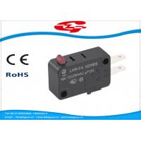 SPDT 3 Terminals Electrical Rocker Switches , Mini Push Button Switch LXW-3 Series Manufactures