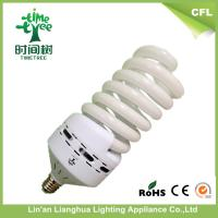 High Power High Lumen Full Spiral Energy Saving Light Bulbs 85w 17mm 4200k / 5500k / 7000k Manufactures