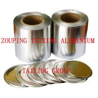 China lacquer aluminium foil for peel off easy open lids on sale
