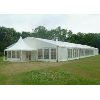 China 15 X 50 Canvas Wedding Party Tent Flame Retardant Hard Plastic ABS Wall on sale