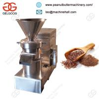 High Quality Low Noise Electric Flax Seed Grinding Machine to UK/Almond Peanut  Herbal Medicine Grinder Manufactures