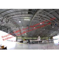 Large-span Waterproof Insulated Prefabricated Steel Structure Aircraft Hangar for Private Usage Manufactures