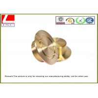 Computer Numerical Control CNC Custom Machining Precision Brass Components Manufactures
