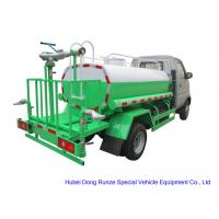 Mini  Road Wash Water Tank Truck1000L  With Gasoline Engine  Pump Sprinkler For  Clean Water Delivery and Spray Manufactures