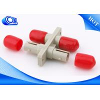 China Duplex Plastic Optical Fiber Adapter , SC TO ST Fiber Adapter For Network on sale
