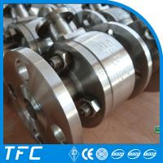 soft seat PTFE seat acid resistant ball valve Manufactures