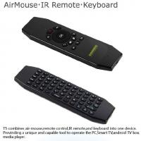 Anti Shake Algorithm Android Air Mouse With IR Function Wireless Keyboard Manufactures