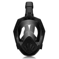 Anti Fog Breathable Easybreath Full Face Snorkel Mask With Adjustable Head Straps Manufactures