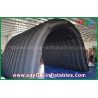 Black 210D Oxford Tunnel Inflatable Camping Tent for Outdoor Activity Manufactures