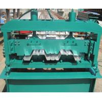 Floor Deck Forming Machine Coil Width 1700mm Anti - Rust Floor Deck Roll Forming Machine Tensile Strength 720 Mpa Manufactures