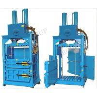 China Horizontal hydraulic cardboard baler machine/waste carton press machine/waste carton press packing machine on sale