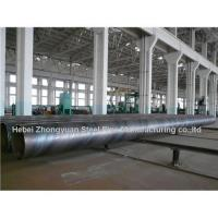 API 5L GrB Carbon Spiral Welded steel pipe Manufactures