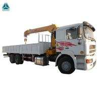 6X4 12 Tons HIAB Telescopic Boom Truck Mounted Crane For Goods Lifting Manufactures