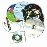 China CD-ROM/Compact Disc with Data Burning or Copy and Printing on sale