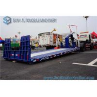 China FAW  115 Hp Engine Wrecker Tow Truck , Flatbed Wrecker Full Landing 5000 KG on sale