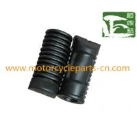 Plastic / Rubber Front Footrest Assy Suzuki Motorcycle parts for AX100 Manufactures