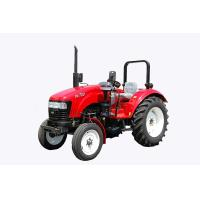 Red Compact Diesel Tractor 4 Wheel Drive Tractor Hydraulic Steering System Manufactures