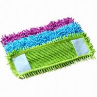 Colorful Chenille Flat Mop/Refill with Nice High Water and Dust Absorption  Manufactures